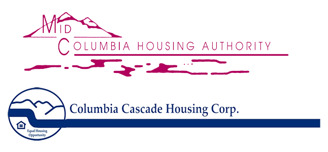 Mid-Columbia Housing Authority Sticky Logo