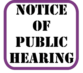City of Stevenson Public Notice – Public Hearing